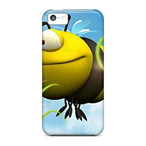 Premium 3d Big Bee Heavy-duty Protection Cases For Iphone 5c Black Friday