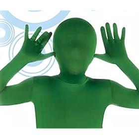 - 41lN fcCIQL - Child's Green Second Skin Suit, Large