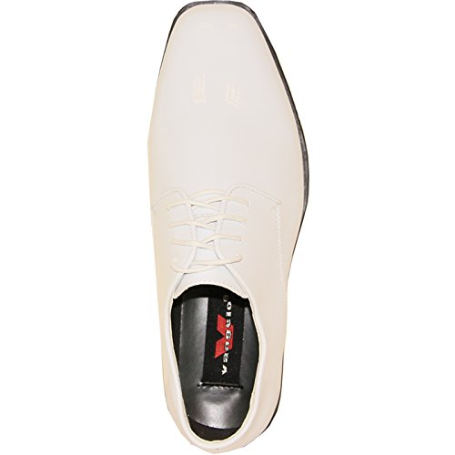 VANGELO Men's Tuxedo Shoe TUX-1 Wrinkle Free Dress Shoe Formal Oxford - Wide Width Available White Patent buy cheap best place NvVOiy