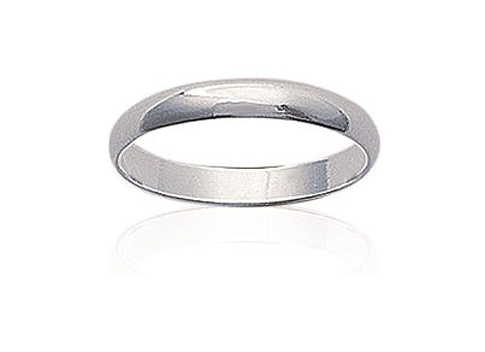 Ring Alliance Breite aus Silber für Männer neu Größe 48
