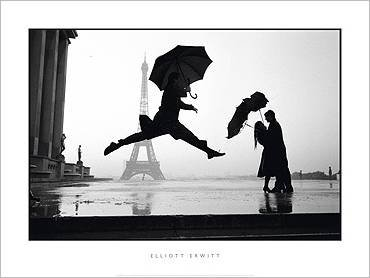 Nouvelles Images Poster 60 x 80 cm France, Paris, 1989, Eiffel Tower 100th Anniversary/France, Paris, 1989, Eiffel Tower 100th Anniversary/France, Paris, 1989, Eiffelturms 100 Elliott Erwitt