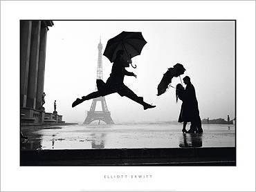 Nouvelles Images Poster 60x 80cm France, Paris, 1989, Eiffel Tower 100th Anniversary/France, Paris, 1989, Eiffel Tower 100th Anniversary/France, Paris, 1989, Eiffelturms 100 Elliott Erwitt