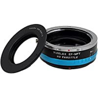 Vizelex ND Throttle Lens Mount Adapter - M42 Screw Mount SLR Lens to Micro Four Thirds (MFT, M4/3) Mount Mirrorless Camera Body, with Built-In Variable ND Filter (1 to 8 Stops)