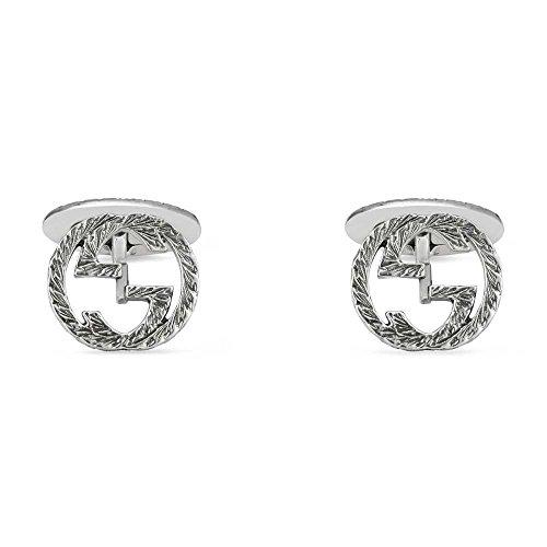 Gucci Women's Interlocking G Cufflinks Silver One - Cufflinks Gucci
