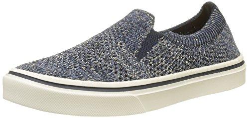 Damen Knitted Slip Sneaker on Weight Blau Tommy Midnight Light 403 Hilfiger BWn50xXnqa