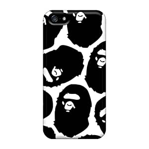 Protector Hard Cell-phone Case For Iphone 5/5s (Atv1222GvHl) Customized HD Bape Skin