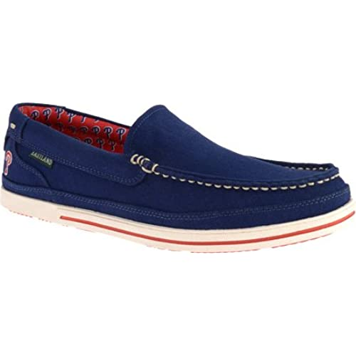 Eastland Men's Sheffield MLB Red Sox Slip-On Loafer