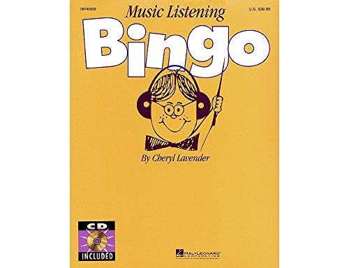 Music Listening Bingo - Hal Leonard Music Listening Bingo (Replacement CD (Set of 2)) CD Composed by Cheryl Lavender