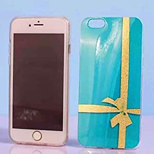 LCJ Specially Designed Gold Dust Pattern TPU Cover for iPhone 6