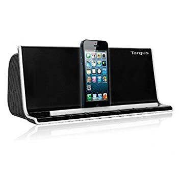 Amazon.com: Targus altavoz bluetooth con cargador base Negro ...