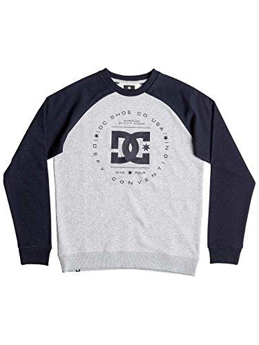 DC Pullover Rebuilt Raglan Blau Gr. L