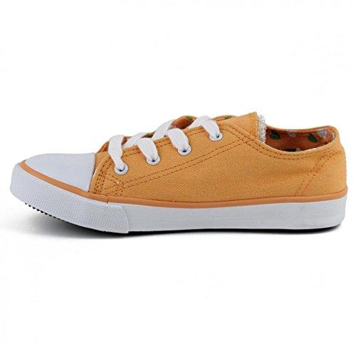 ... Sneaker für Junge und Mädchen XTI 52420 LONA NARANJA ...