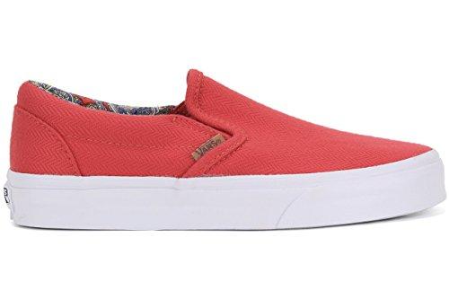 Vans On Vans Rojo Vans Slip On Classic Slip Rojo Classic Slip On Vans Rojo Classic Slip ArATx0q