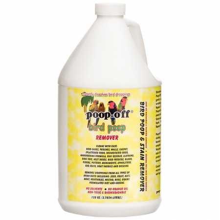 Poop Off Gallon - Poop-Off Bird Poop Remover Refill, 128-Ounce