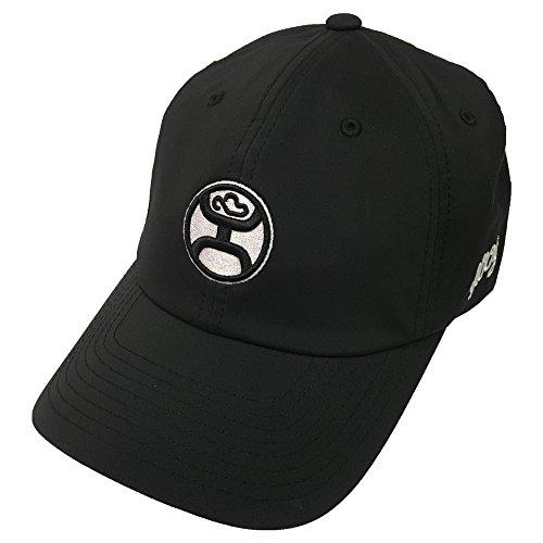 HOOey Men's Center Front Logo Cap Black One Size