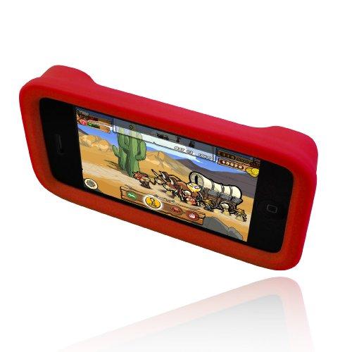 Dermashot Silicone Incipio Case - Incipio dermaSHOT Silicone Case for iPhone 3G, 3G S (Action Red)