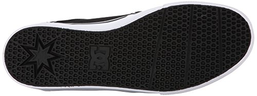 DC Mens Mikey Taylor Vulc Mikey Taylor Signature Skate Shoe, Burgundy, 10 M US Black/grey/white