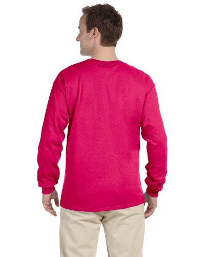 4930r Of Loom The Robusto Pink In Fruit A Lunga Cyber Manica T Cotone shirt Pq4dTnf6