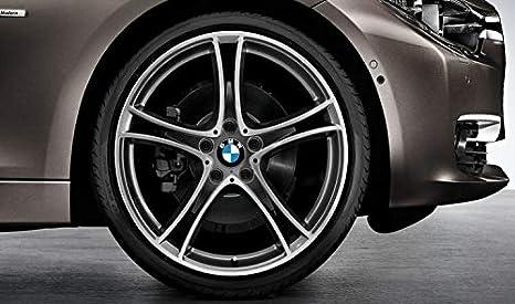 Original BMW 1er F20 F21 Verano Completo juego de ruedas de radios 361 Negro Doble