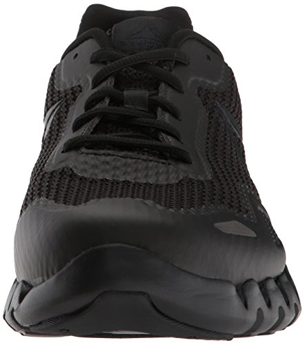 black Men's Shoe Running Reebok Pulse Zig Black fqwW4Y