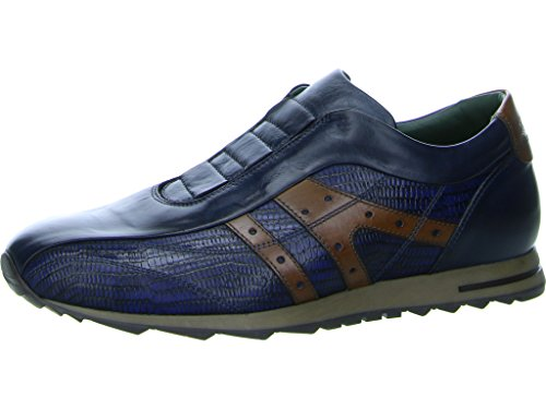 Men's Torresi V16550 Galizio Loafer Flats Blue 317754 qgpw5nwvx