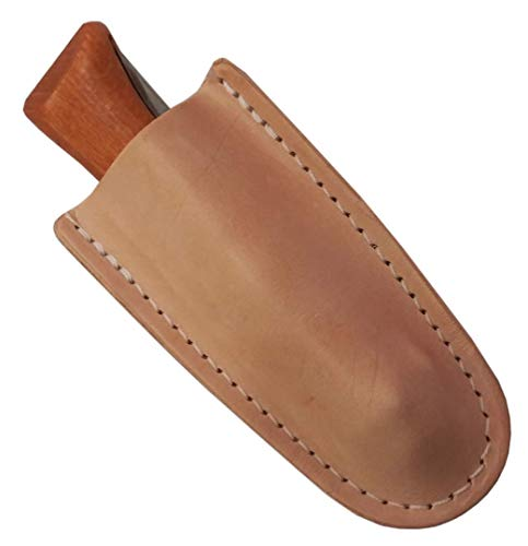 Top Grain Leather Knife Sheath for Opinel #9, 10 & #12 Folding Knives (Top Ten Best Pocket Knives)