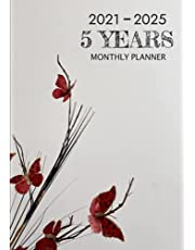 2021-2025 Monthly Planner: 5 Years (January 2021-December 2025), Five Year Agenda Schedule Organizer, 60 Month Planner, Monthly Calendar with Federal Holidays, Yearly Planner & Appointment Notebook