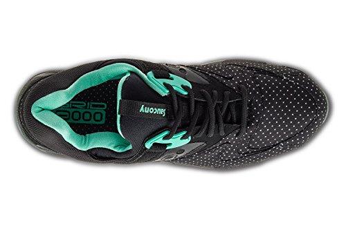 Originals Sneaker Nero Saucony – Grid acquamarina 9000 Dots Unisex Basse Adulto xT4Iq14wd