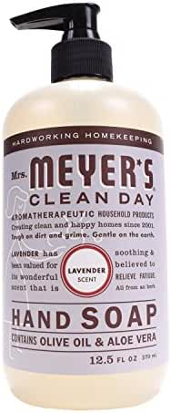 Mrs. Meyer's Clean Day Liquid Hand Soap, Lavender, 12.5 oz