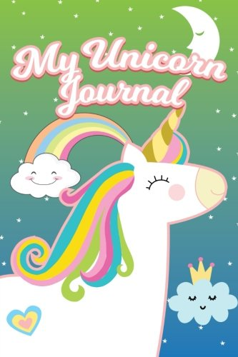 My Unicorn Journal: 6x9 Blank Lined Journals To Write In V44