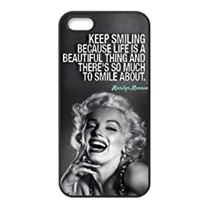 Loft 520 (TM) Clever Design Marilyn Monroe Quote iPhone 5 5s at Loft 520 Store