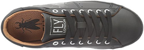 Femme Basses London Fly Baskets Berg823fly Noir Black qwFtxUvC
