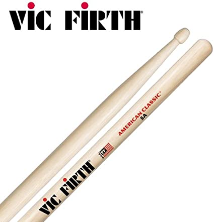VIC FIRTH Trommelstöcke Drumsticks Trommel Stöcke Hickory American Classic 5A