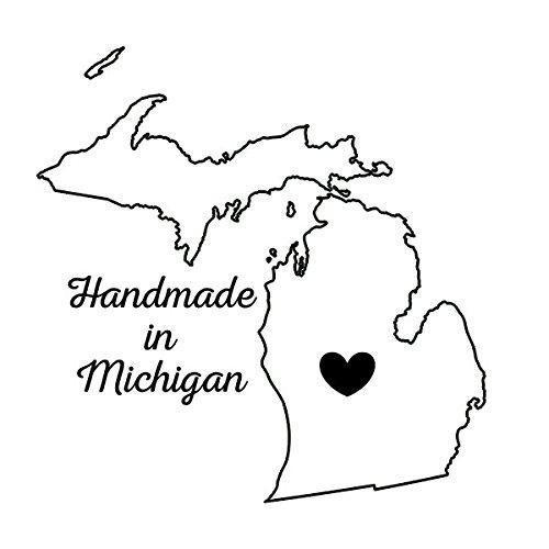 (Scrapbook Customs Michigan - Handmade in Rubber Stamp)