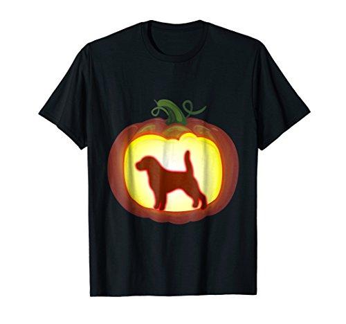 Pumpkin Lantern Beagle T-Shirt Halloween Costume Dog (Funny Homemade Dog Halloween Costumes)