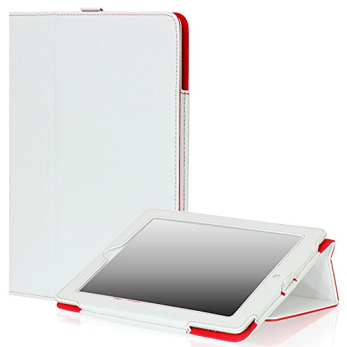 SAVEICON iPad Leather Case White