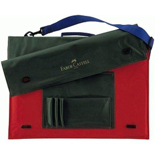Faber Castell - Borsa a tracolla per blocco da disegno, formato A3, in tessuto Faber-Castell FC175703