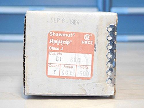 BRAND NEW - Gould Shawmut CJ600 Amp-Trap Class J Fuse CJ 600 CJ-600