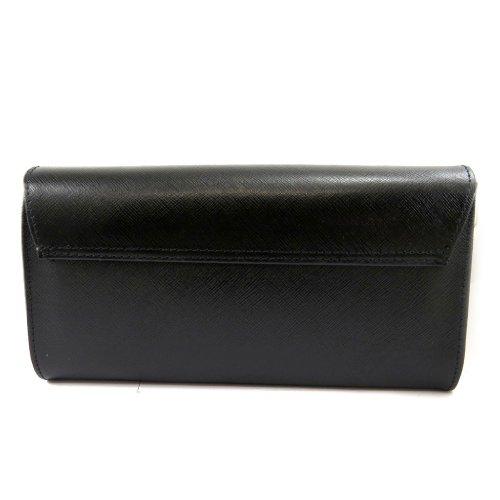 Folds Pouch 2 'frandi'negro Bag Leather YqXAU