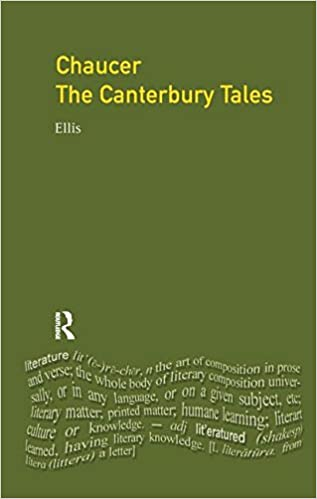Chaucer The Canterbury Tales Longman Critical Readers Geoffrey