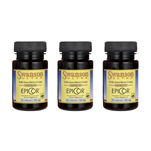 Swanson Epicor 500 mg 30 Caps 3 Pack