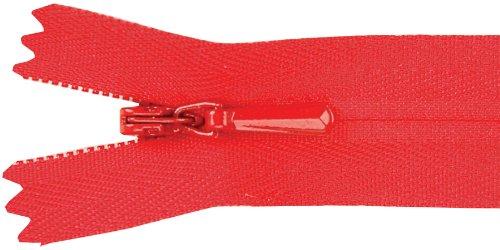 UPC 662330521169, Unique Invisible Zipper 9 Inch -Red