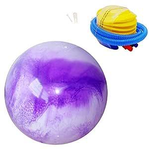 APcjerp Yoga Bola de la Aptitud balón de Gimnasia Equilibrio Gym ...