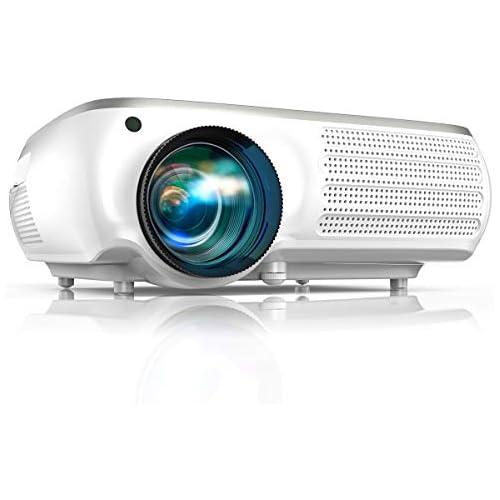 chollos oferta descuentos barato Proyector TOPTRO 7000 Lúmenes Proyector Full HD 1080P Nativo 1920x1080 Soporta 4K y Audio AC3 Corrección Trapezoidal 4D Zoom X Y para Cine en Casa