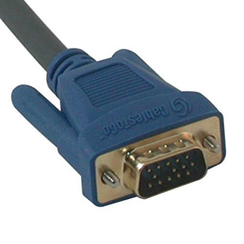 C2G/Cables to Go 29641 Ultima HD15 Male to RCA HDTV Component Video Breakout Cable (6 (Cables To Go Hd15 Graphics Card)