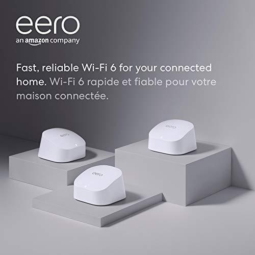 Amazon eero 6 dual-band mesh Wi-Fi 6 system