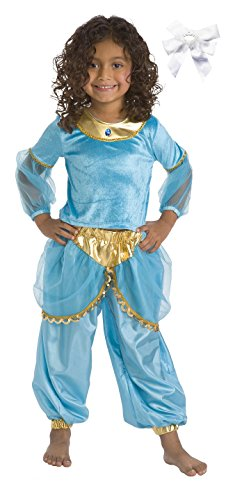 Little Adventures 11191 Arabian Princess Costume Age 1-3 with Hairbow (Arabian Costumes For Girls)