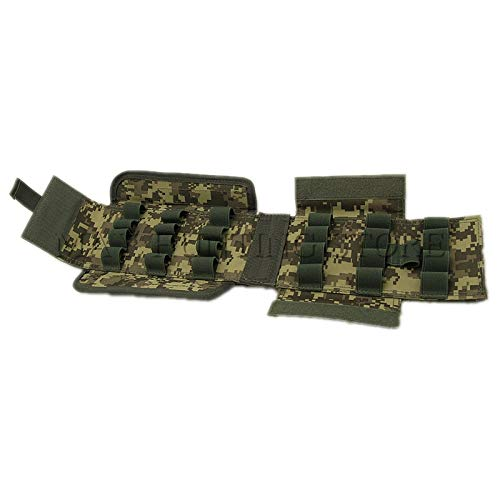 Best Quality - Pouches - Airsoft Hunting Accessories Ammo Bags 25 Round 12GA 12 Gauge Ammo Shells Shotgun Reload Magazine Pouches Molle Bag - by KAKAX - 1 PCs - Best Hunting Round