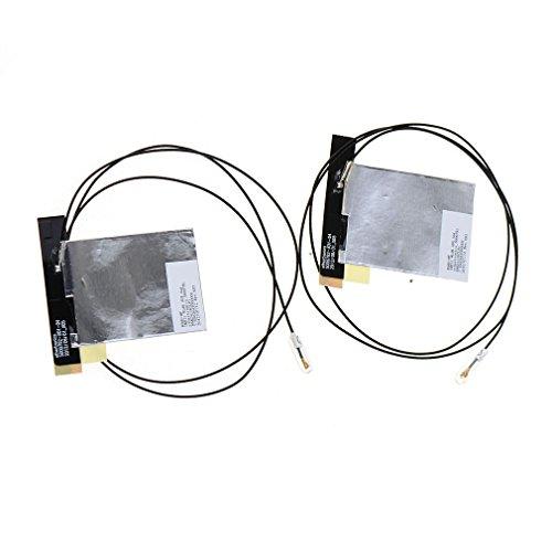 asdomo IPEX mhf4tarjeta de NGFF 72607265portátil Wireless WiFi antena interna, 2-pack