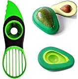 Avocado Slicer, 3 in 1 Avocado Tool Multifunctional Avocado Slicer, Avocado Pitter, Avocado Cutter, Avocado peeler with…